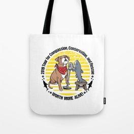 (v1) Worth More Alive! Tote Bag