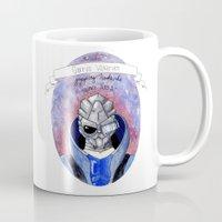 garrus Mugs featuring Mass Effect: Garrus by Sunol Golden