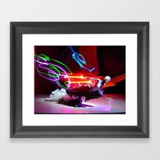 Asajj Ventress' lightsabers Framed Art Print