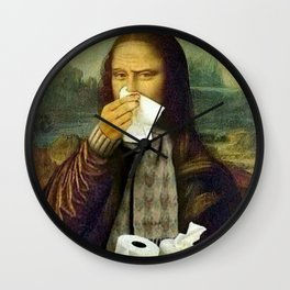 GIOCONDA COOLED Wall Clock