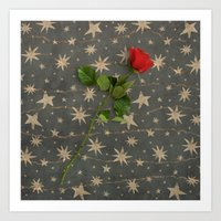 Love Stars Art Print