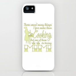 Cooking Mimi iPhone Case
