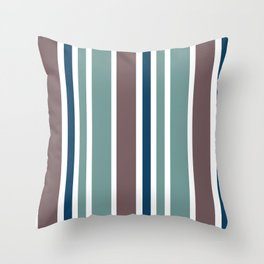 Classic Verticality Throw Pillow