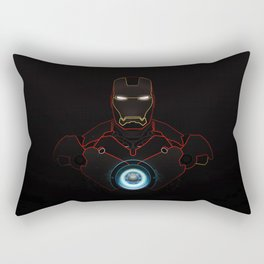 Ironman The Power Of Arc Reactor Rectangular Pillow