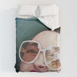 The Real Me Duvet Cover