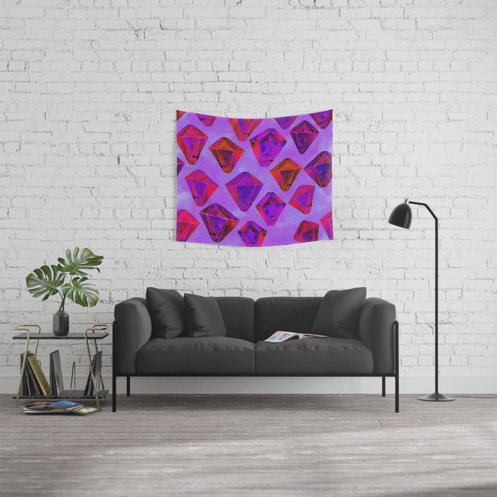 Fairy gems Wall Tapestry