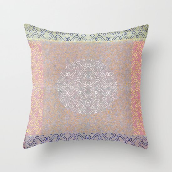 Grey Retreat Throw Pillow