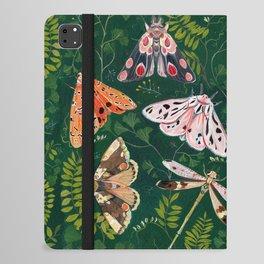 Moths and dragonfly iPad Folio Case