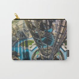 Dubai from the tallest building in the world Carry-All Pouch