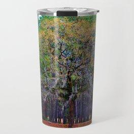 Pine Tree Landscape Travel Mug