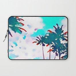 Lanikai Coconut Trees Laptop Sleeve