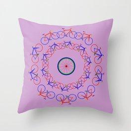 Bike Giro Throw Pillow
