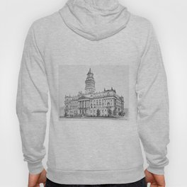 Wayne County Court House | Detroit Michigan Hoody