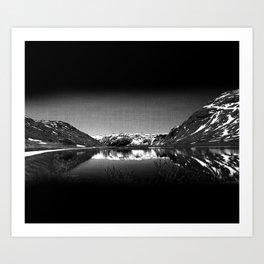 Mountain View at Norvegian Art Print