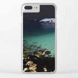 Sirius Beach Clear iPhone Case