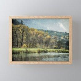 Time Waits for No One Framed Mini Art Print
