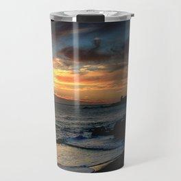 Sunrise over Bass Strait - Tasmania Travel Mug