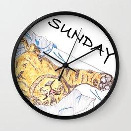 Sunday! Wall Clock