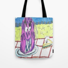 The Jelly Monster! Tote Bag