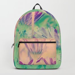 Dreamy Spring Lavender Daisy Flowers Backpack