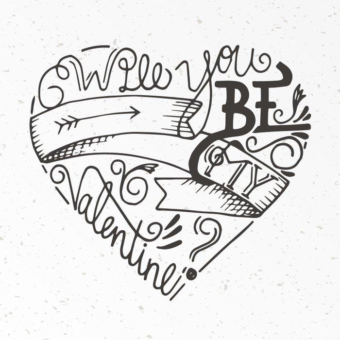 Be my Valentine Comforters
