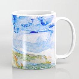 Walking Rain Clouds watercolor by CheyAnne Sexton Coffee Mug