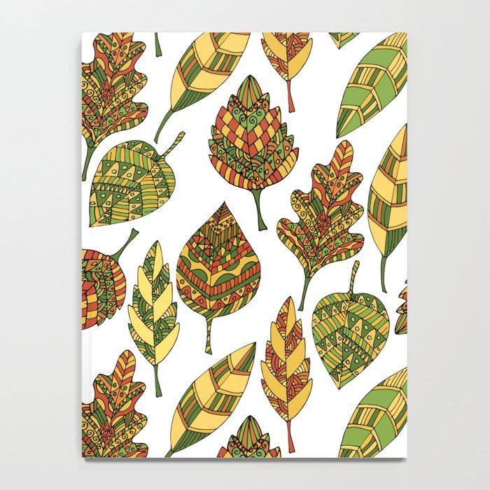 Gold autumn Notebook