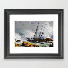 The Big Swell Framed Art Print