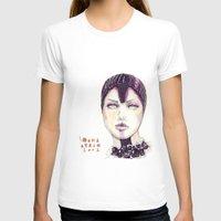 fashion illustration T-shirts featuring Fashion illustration  by Ioana Avram