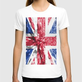 Extruded Flag of the United Kingdom T-shirt