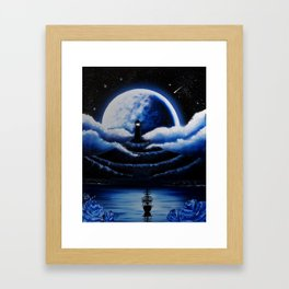 Guide me home Framed Art Print