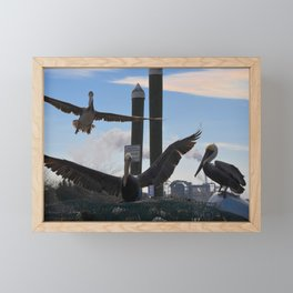 incoming Framed Mini Art Print