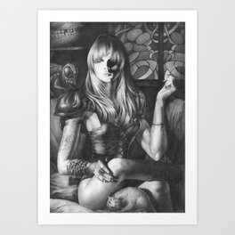 Princess Of Hell Art Print