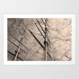 Cutty Sark Art Print