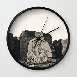 landscape view Wall Clock