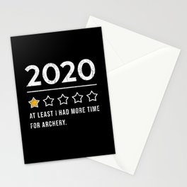Archery 2020 Sayings Review Stationery Cards