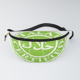 100% Halal Muslim And Diet Expert Gift Fanny Pack