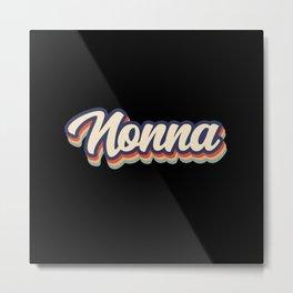 Nonna Vintage Colors Metal Print