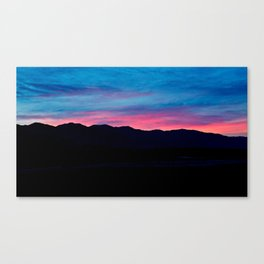 Sunrise Death Valley   2/8/14 Canvas Print