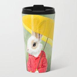 It's raining, little bunny! Travel Mug