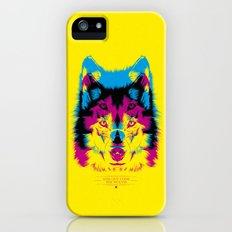 Wolf CMYK Slim Case iPhone (5, 5s)