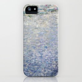 The Water Lilies - Clear Morning with Willows - Digital Remastered Edition iPhone Case