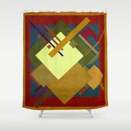 Geometric illustration 14 Shower Curtain