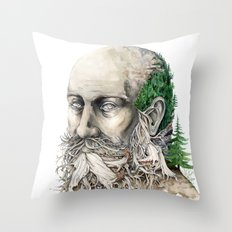 Element : Earth Throw Pillow