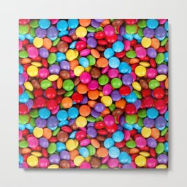 A Handful of Candy Metal Print