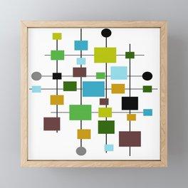 Mid-Century Modern Art 1.3.2 Framed Mini Art Print