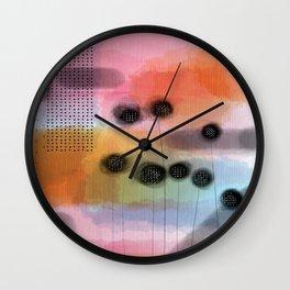 Pink Retreat Wall Clock