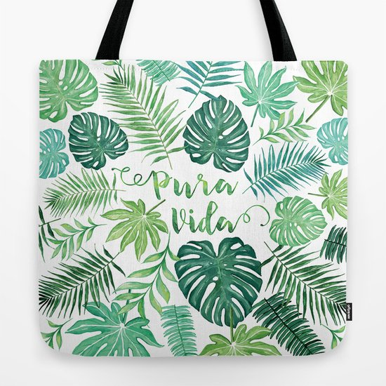VIDA Tote Bag - WATER COLORS by VIDA