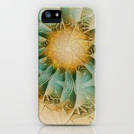 Fractal Fantasy iPhone Case