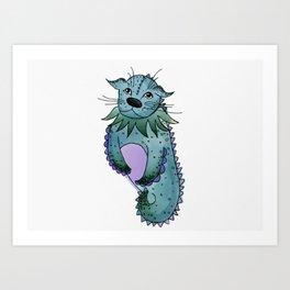 Sea creature Art Print